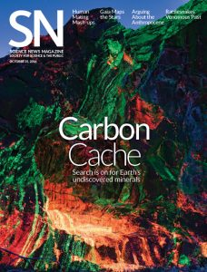 15 October 2016 cover of Science News